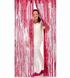 vorhang rot glitzer vorhang rot 1 x 2 m