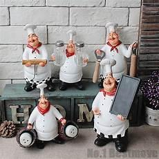 Kitchen Restaurant Resin Chef Cook Figurine Statue