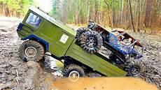 Rc Cars Road Mud Adventure 4x4 Vs 6x6 Truck The
