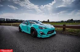 SEMA Built Tiffany Blue Rocket Bunny FR S  Rare Cars For