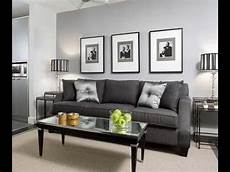 Home Decor Ideas For Grey Walls living room grey walls black furniture interior design