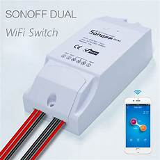 Dual Wifi Smart Push Button by Itead Sonoff Dual Wifi Smart Switch Smart Home Automation