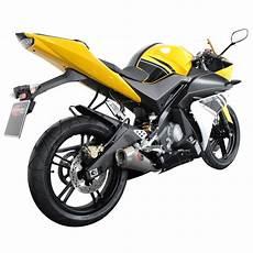 scorpion exhaust system steel oval yamaha yzf r125 08 gt ebay