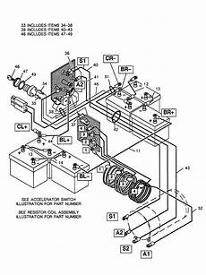 86 club car golf cart battery wiring diagram basic ezgo electric golf cart wiring and manuals electric golf cart golf carts