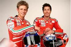 Ducati Desmosedici Gp9 Launchでのcasey Stoner And Nicky