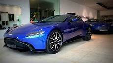 aston martin leeds new vantage in zaffre blue youtube