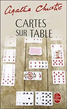 Cartes Sur Tables Agatha Christie Ou L De Jeter Ses