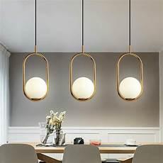 pendelleuchte esszimmer gro 223 handel nordic pendelleuchte minimalismus glaskugel led