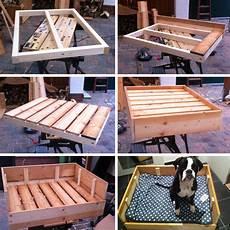 Hundebett Selber Machen - diy freutag hundebett aus holz selber bauen der