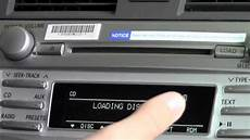 cd wechsler auto 2011 toyota camry 6 cd changer how to by toyota