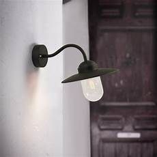 nordlux luxembourg outdoor wall light black