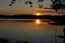 Gambar Laut Alam Horison Gunung Awan Matahari