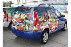 Werbeaufkleber Werbefl 228 Cher Auf Auto Kein Geldwerter