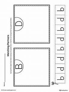 letter d and b worksheets 24192 b d letter reversal match to uppercase worksheet myteachingstation
