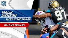 bills vs jaguars malik jackson sacks tyrod on jags blitz