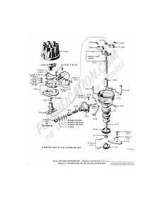 Ford Truck Distributor Wiring by Ford Truck Technical Drawings And Schematics Section I