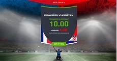 Frankreich Kroatien Prognose Und Quoten Aktion Zum Wm Finale