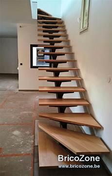 Aide Plan Escalier Quart Tournant Limon Central