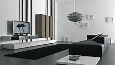 moderne wohnzimmer schwarz weiss black and white living room design and ideas