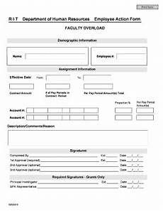 employee action form fill online printable fillable blank pdffiller