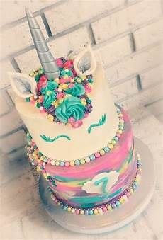 torten für kindergeburtstag zum selbermachen eine einhorn torte selber machen und weitere design ideen