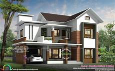 kerala modern house plans with photos 2550 sq ft 4 bedroom mixed roof contemporary home in 2020