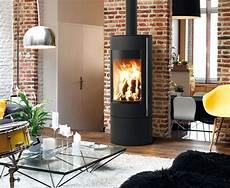 poele à bois contemporain po 234 le 224 bois maud design contemporain fireplace ideas