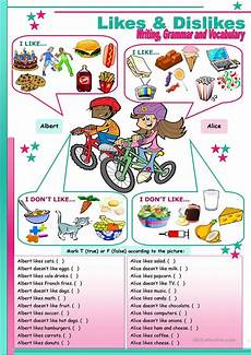 likes dislikes to be either worksheet free esl printable worksheets made by teachers