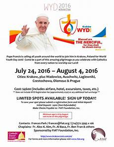 world youth day 2016 with fiat
