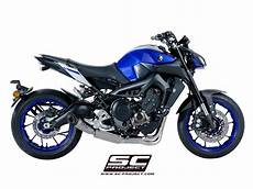 sc project exhaust yamaha mt 09 system 3 1 s1