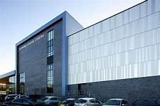 aluminium facade for flagship leisure centre