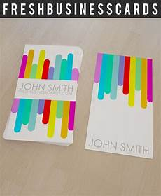 colorful name card template colorful business card template unique business cards