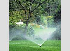 Lawn Sprinkler Maintenance Can Increase Water Efficiency