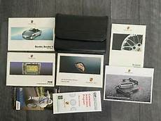 manual repair free 2006 porsche boxster auto manual 2006 porsche boxster owners manual set with navigation free fast shipping ebay