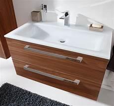 doppelwaschbecken 90 cm puris line waschtisch mit unterschrank 90 6 cm breit