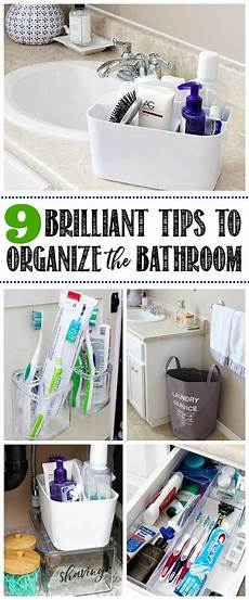 Bathroom Ideas Organizing by 9 Easy Tips To Organize The Bathroom Clean And Scentsible