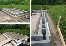 Gewächshaus Fundament Bauen - das richtige fundament f 252 r ihr gartenhaus wiaty diy