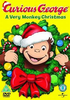 weihnachten cartoon film curious george a monkey dvd zavvi