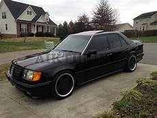 mercedes w124 amg 2 style front bumper spoiler