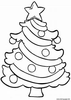 tree easy coloring pages printable