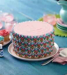 Torte Dekorieren Ideen - vibrant petals cake joann jo