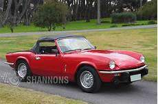 Sold Triumph Spitfire 1500 Roadster Auctions Lot 9