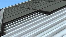 soltecture sol30 rooftop mounting system installation trapezoidal sheet metal roof youtube