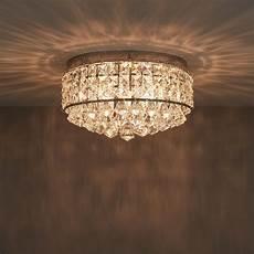 ultim chrome effect 3 l flush light departments diy at b q in 2019 bathroom ceiling