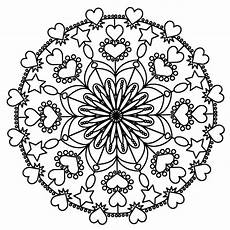 mandala coloring pages getcoloringpages