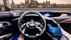 Lexus UX Crossover Concept Interior Revealed  WHEELSca