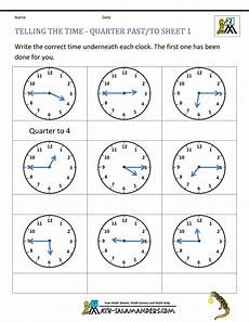 time worksheets o clock half past quarter past quarter to 3123 clock worksheet quarter past and quarter to