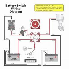 blue sea dual battery switch wiring diagram free wiring diagram