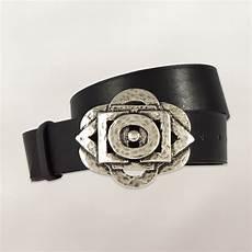 ceinture femme cuir noir 84240 lacameleon ceintures en cuir pour femmes et hommes