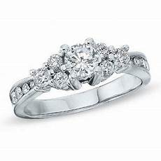 1 00 ct t w certified canadian diamond engagement ring